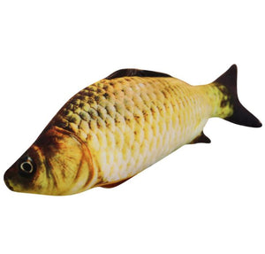 Realistic Looking Cat Kicker Fish Toy - GenieMania Fr