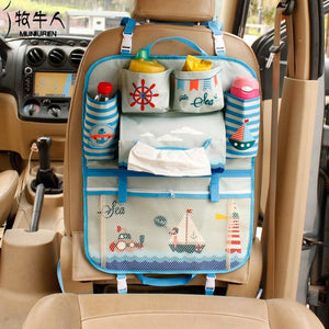 Kids Car Seat Storage Organizer - GenieMania Fr