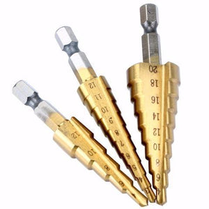 EasyDrill - Titanium Coated Drill Bit (3pcs) - GenieMania Fr