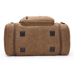 EXPANDABLE HIGH-QUALITY CANVAS WEEKEND TRAVEL BAG [5 VARIANTS] - GenieMania Fr