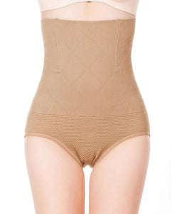 High Waist Tummy Tuck Waist Shaping Panty - GenieMania Fr