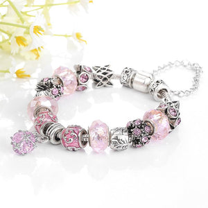 Unique Tourmaline Charm Bracelet