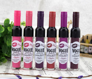 Cute Wine Bottle Lip Gloss