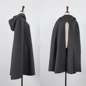 NOBLE HOODED CLOAK FOR WOMEN