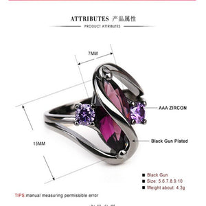 Amethyst Queen Ring