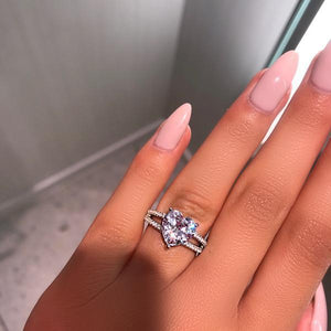 Queen Of Hearts Diamond Ring