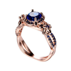 September Rose Gold Ring - GenieMania Fr