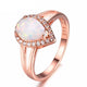 Opal Queen Ring - GenieMania Fr