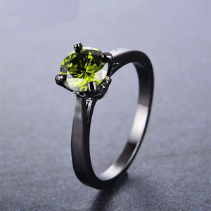 August Birthstone Ring