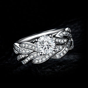 Infinity Diamond Queen Ring