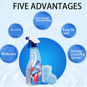 Multifunctional Effervescent Spray Cleaner [Limited Stock] - GenieMania Fr