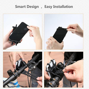 Universal bike phone holder - GenieMania Fr
