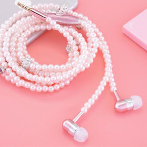 Tangle Free Beaded Earbuds