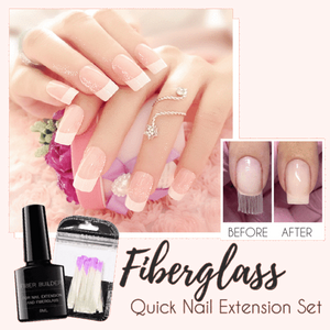FiberNails™ Fiberglass Quick Nail Extension Set - GenieMania Fr