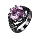 June Birthstone Alexandrite Ring - GenieMania Fr