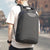 LEATHER ANTI-THEFT LUGGAGE BACKPACK - GenieMania Fr