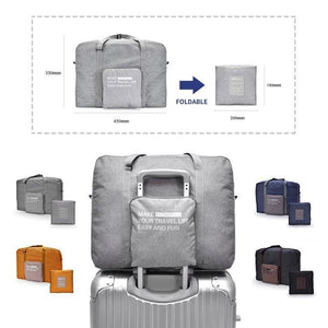 Travel Foldable Duffel Bag - GenieMania Fr