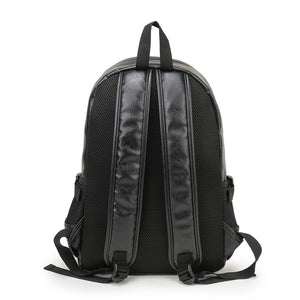 CASUAL PREPPY LEATHER BACKPACK [3 VARIANTS]