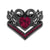 Black Swan Ruby Heart Ring - GenieMania Fr