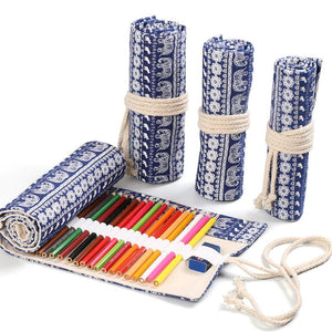 Soft Roll Up Pencil Case