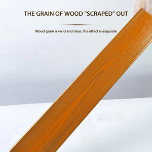 Wood Graining DIY Tool Set - GenieMania Fr