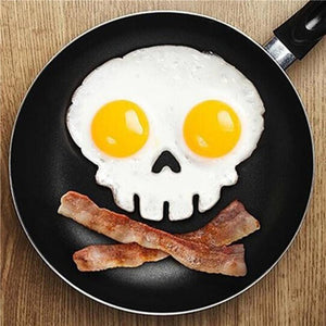 Skull Egg Mould - GenieMania Fr