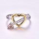 November Heart Queen Ring