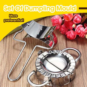 Set Of Dumpling Mould - GenieMania Fr