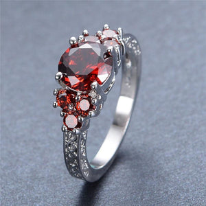 July Birthstone Ruby Ring - GenieMania Fr