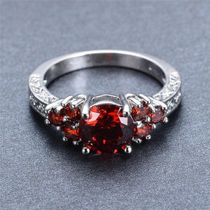 July Birthstone Ruby Ring