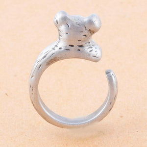 Cute Pig Adjustable Ring