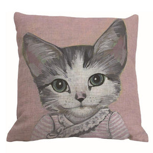CAT SERIES DECOR PILLOW COVERS - GenieMania Fr
