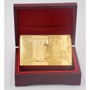GOLD DIAMOND PLAYING CARDS - GenieMania Fr