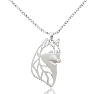 (Limited Edition) Siberian Husky Necklace