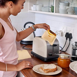 Reusable Non-Stick Toaster Bags - GenieMania Fr