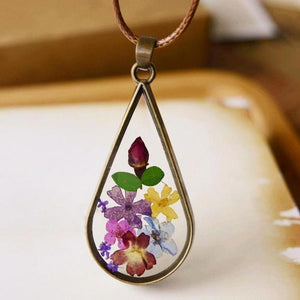 Terrarium Bronze Necklace - GenieMania Fr