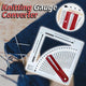 Knitting Gauge Calculator - GenieMania Fr