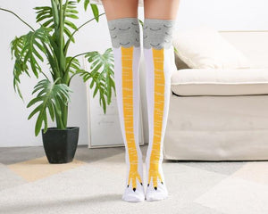 Original Chicken Legs Socks (1 Pair ) - GenieMania Fr