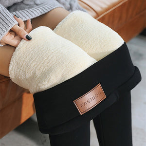 Thickened Slim Cashmere Warm Pants - GenieMania Fr