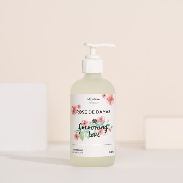 Micellaire à la rose de Damas (240 ml)