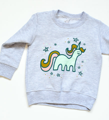Unicorns are Magic- kids sweatshirt