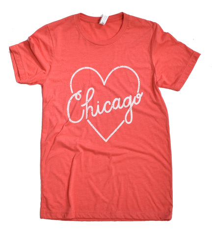 I Heart Chicago - adult t-shirt