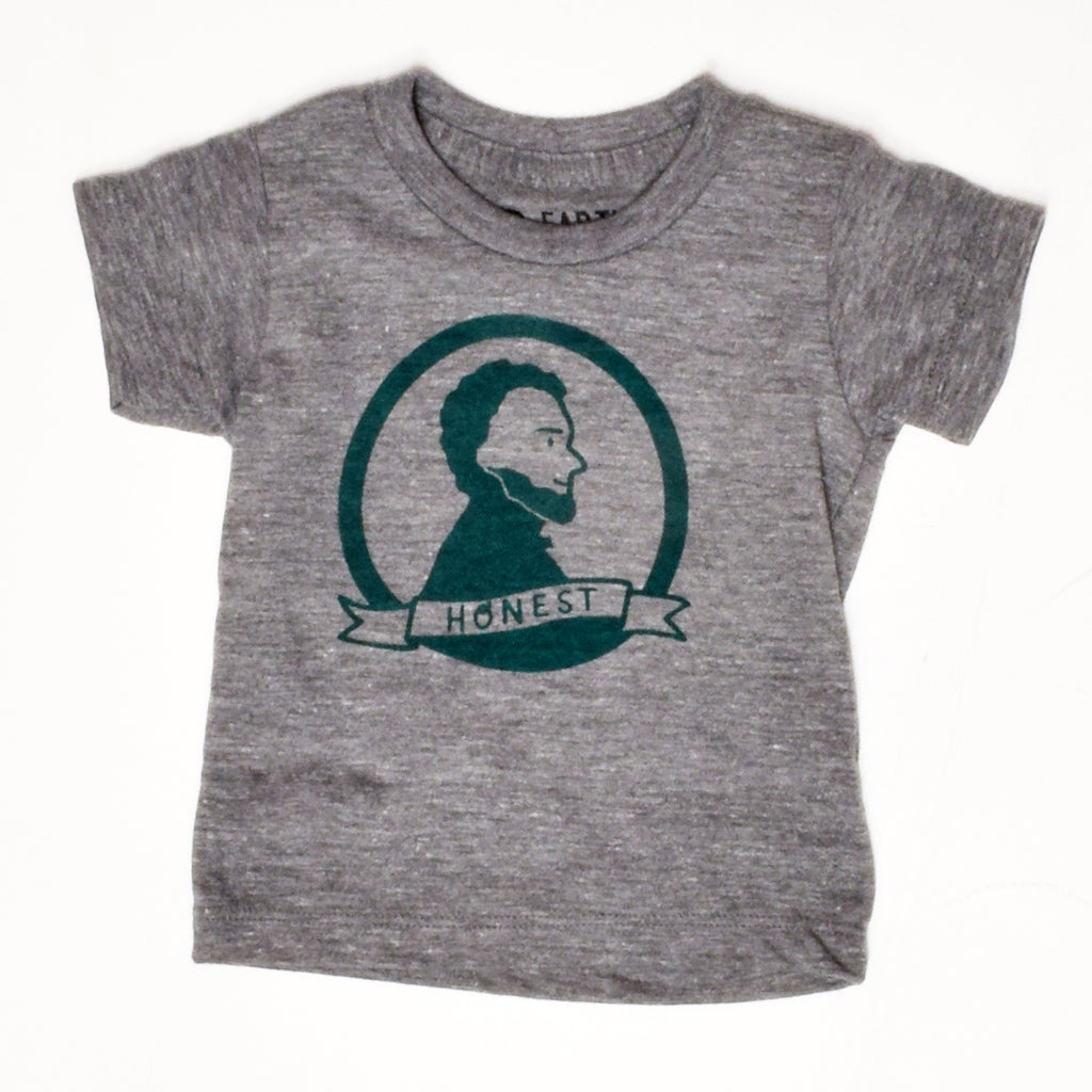 Honest Abe - baby t-shirt - sale