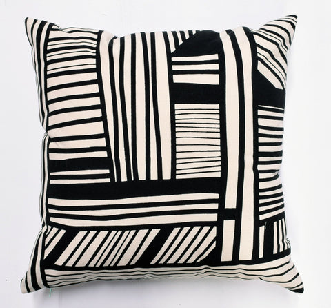 A Maze - black - pillow case