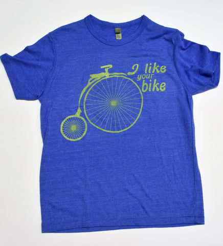 I Like Your Bike - unisex t-shirt XL - sale