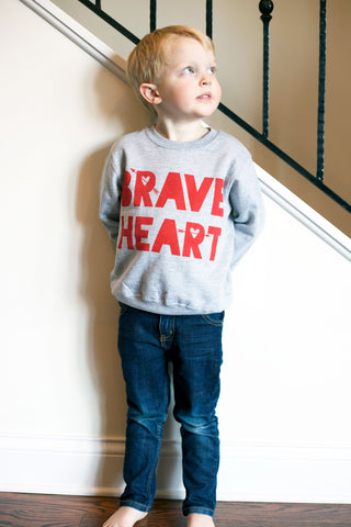 Brave Heart - kids sweatshirt