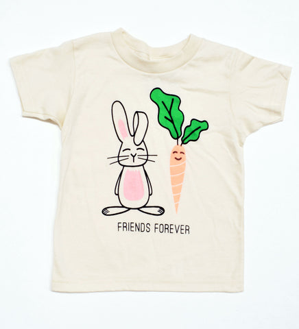 Friends Forever - Springtime Bunny Carrot Shirt