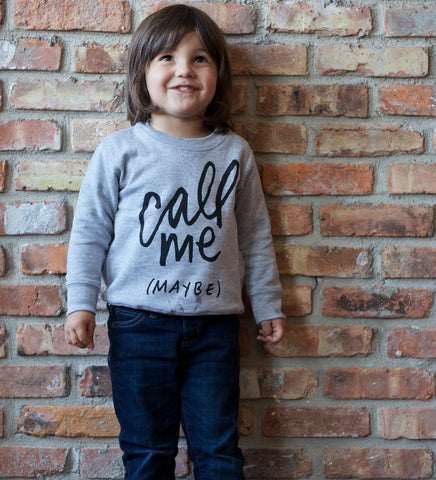 Call Me Maybe - kids sweatshirt