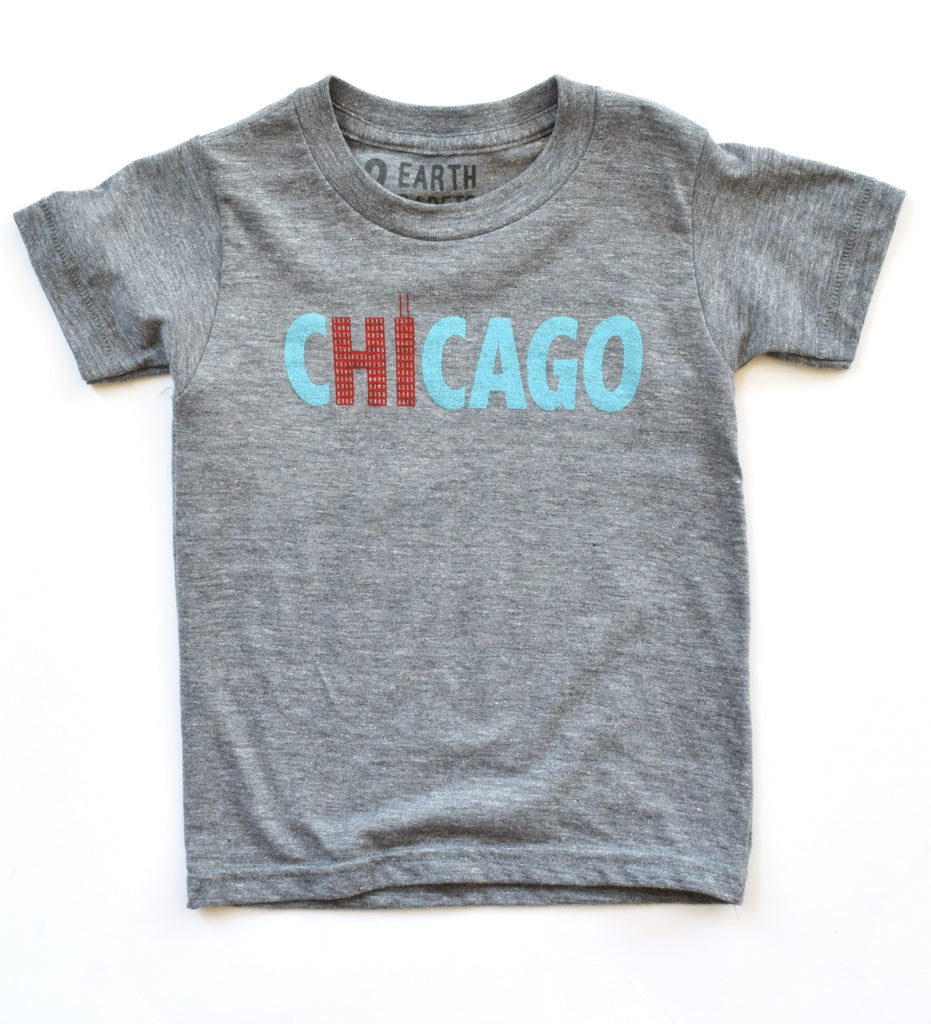 Hi from Chicago - kid's t-shirt