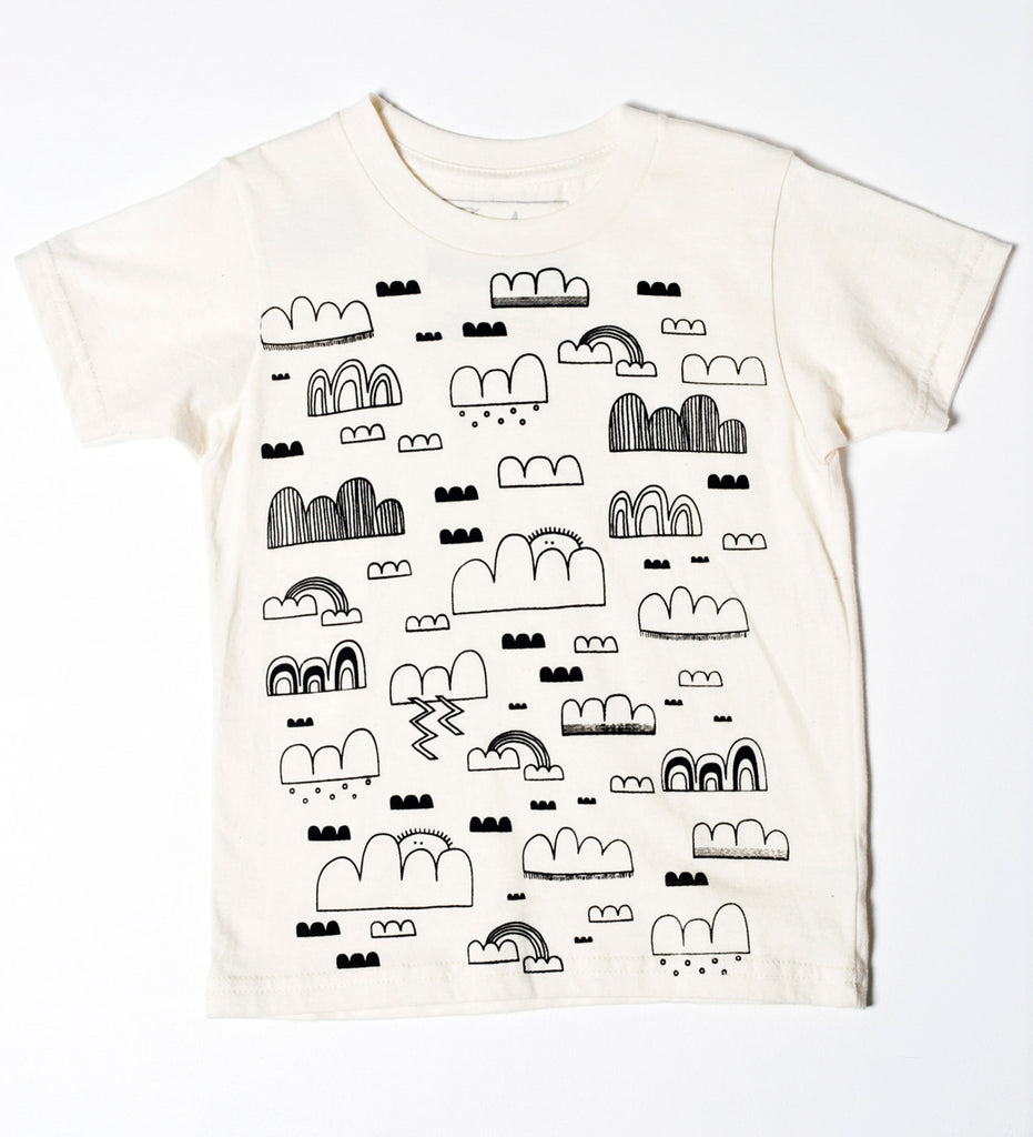 Cloud Sweeper - organic, kid's t-shirt